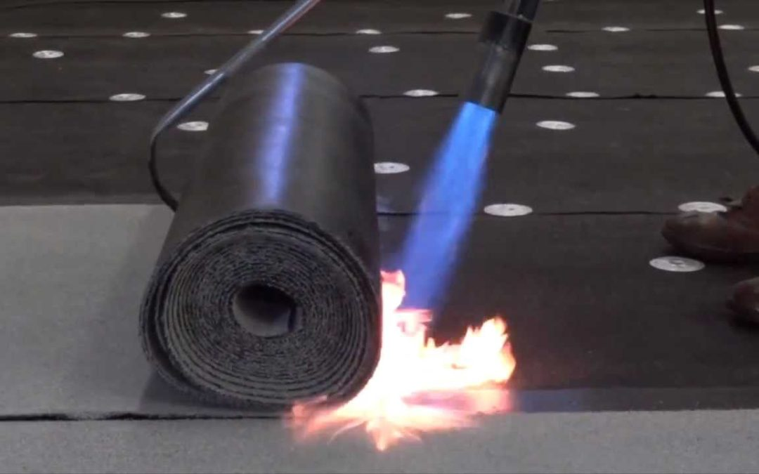 What is torch on roofing?