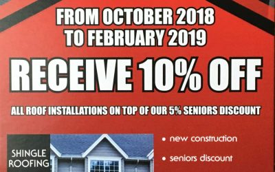 Fall and Winter Promotion Runs Until February 2019