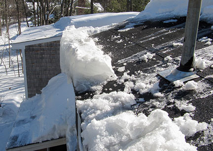 Winter weather and your roof