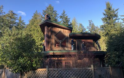 New Hornby Island Metal Roof